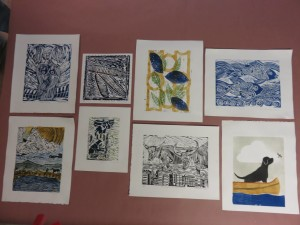 Eight prints competed in editions of 5 during Print Day in May.